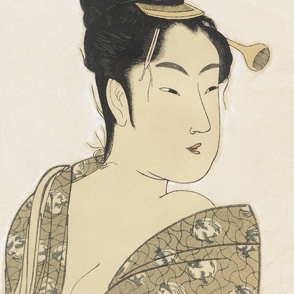 The Fancy-Free Type by Utamaro (1750 - 1806)