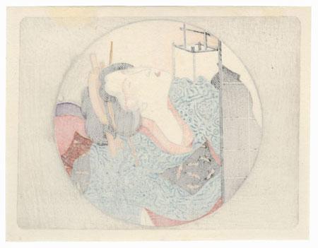 Pillow Print by Eisen (1790 - 1848)