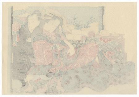 Series; The Secret Language of the Courtesan by Eisen (1790 - 1848)