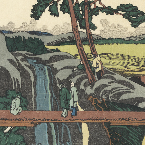 Juniso at Yotsuya by Hokusai (1760 - 1849)