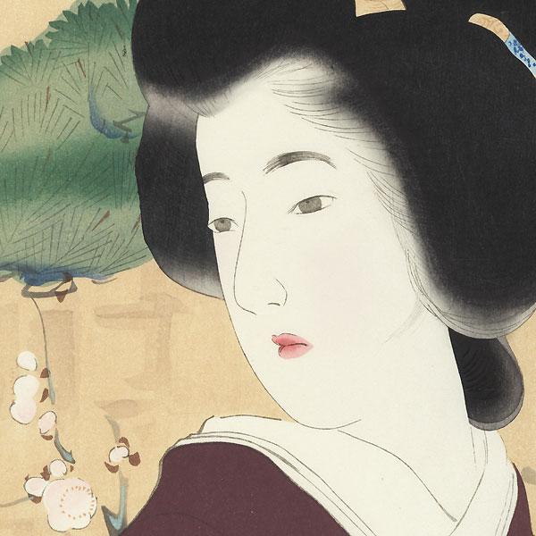 Passion (Shunjo) by Kiyokata Kaburagi (1878 - 1972)
