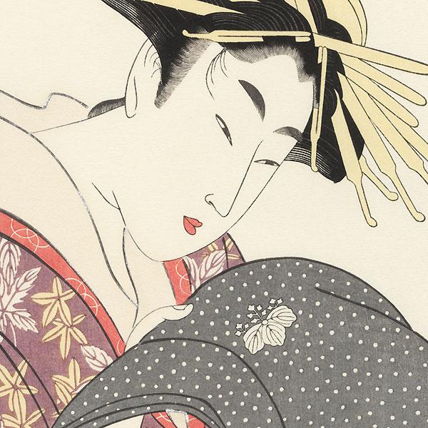Madoka of the Tamaya by Utamaro (1750 - 1806)