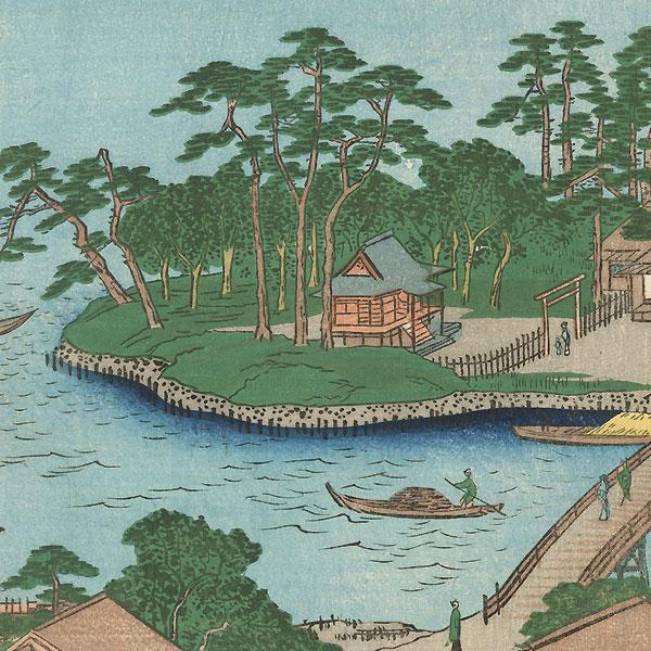 Shinagawa Susaki by Hiroshige (1797 - 1858)