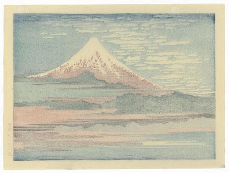 Fuji under Clear Skies by Hokusai (1760 - 1849)