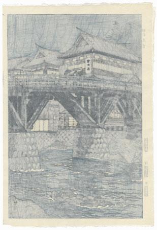 Uzen - Akakura, 1954 by Shiro Kasamatsu (1898 - 1991)