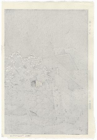Aterazawa, circa 1950s by Shiro Kasamatsu (1898 - 1991)
