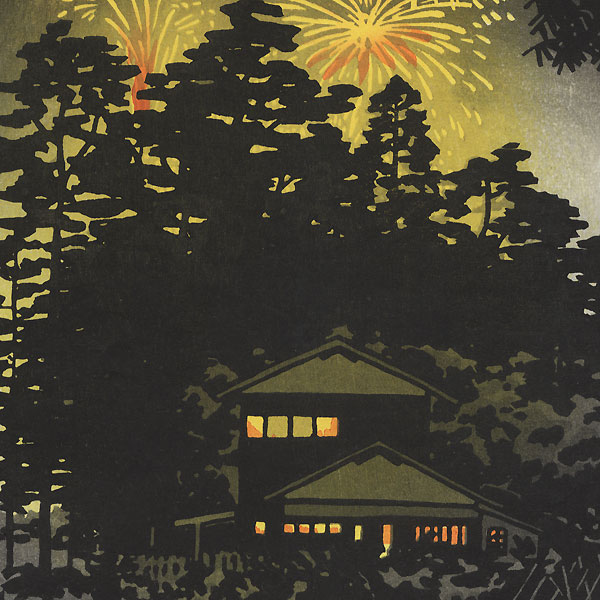 Summer Night, 1958 by Shiro Kasamatsu (1898 - 1991)