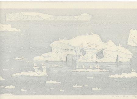 Sea Gull of Antarctic, 1987 by Toshi Yoshida (1911 - 1995)