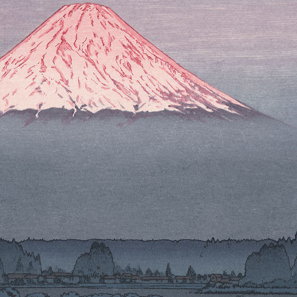 Mt. Fuji from Gotenba, 1987 by Toshi Yoshida (1911 - 1995)