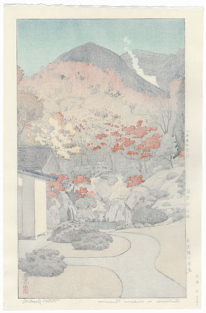 Autumn in Hakone Museum, 1954 by Toshi Yoshida (1911 - 1995)