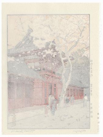 Hiejinja, 1940 by Toshi Yoshida (1911 - 1995)