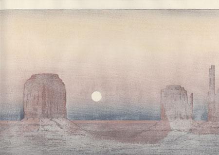 Monument Valley, 1971 by Toshi Yoshida (1911 - 1995)