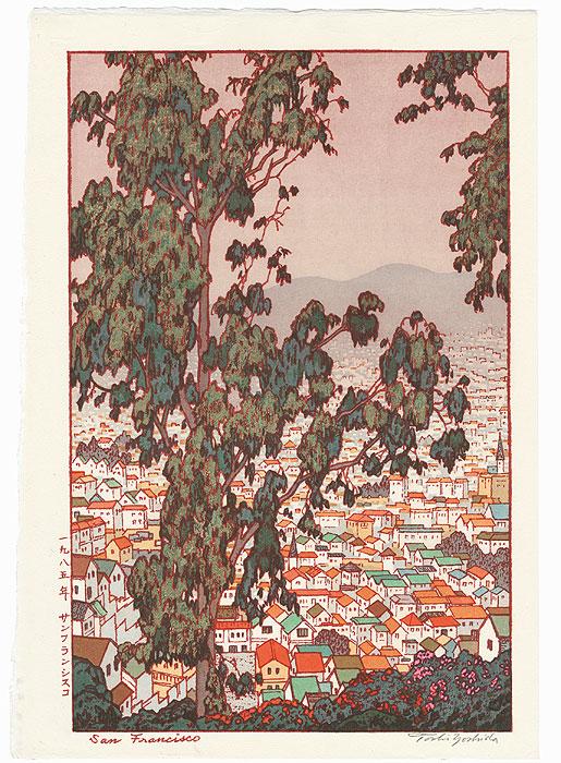San Francisco, 1971 by Toshi Yoshida (1911 - 1995)
