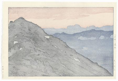 Tsubakurodake, Evening, 1951 by Toshi Yoshida (1911 - 1995)