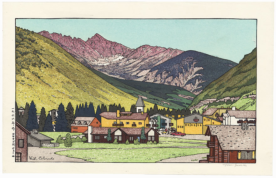 Vail, Colorado, 1966 by Toshi Yoshida (1911 - 1995)