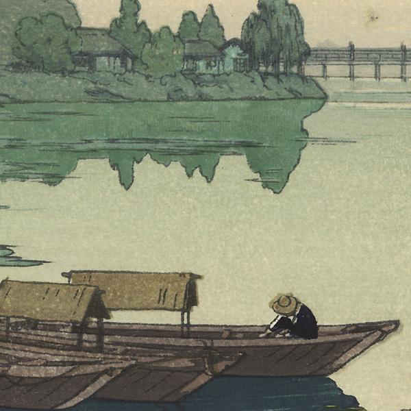 Yodo River, 1942 by Toshi Yoshida (1911 - 1995)