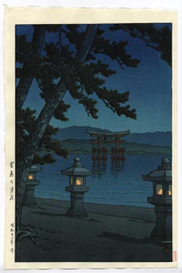 http://www.fujiarts.com/japanese-prints/gallery/hasui/night_scene_at_miyajima_1947.jpg