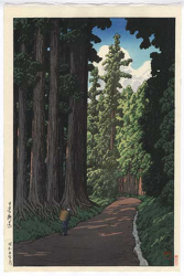 http://www.fujiarts.com/japanese-prints/gallery/hasui/an_avenue_at_nikko_1930.jpg